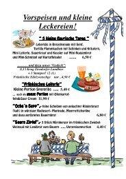 0,3 l Krug Zirndorfer Landbier + 1 Stamperl (2 cl.) - Hotel Goldene ...