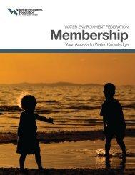 WEF membership brochure - pncwa