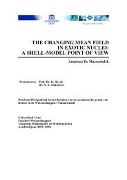 the changing mean field in exotic nuclei: a shell-model point of view