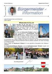 04-2013 - Marktgemeinde Dimbach