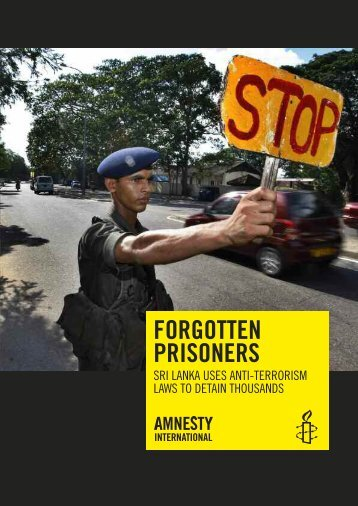 Forgotten Prisoners - Amnesty International