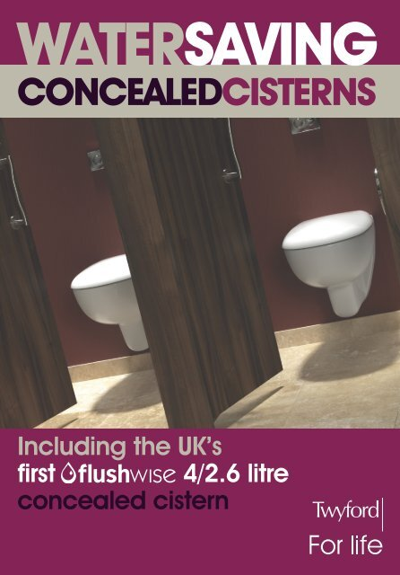 Outstanding Twyford Water Saving Concealed Cisterns Machost Co Dining Chair Design Ideas Machostcouk