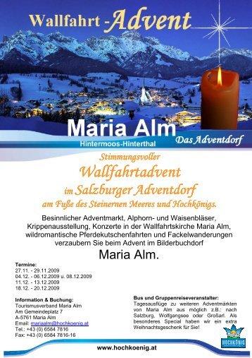 Wallfahrt Wallfahrtadvent