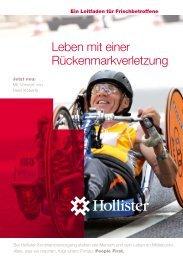 Leben mit einer Rückenmarksverletzung - Hollister Incorporated