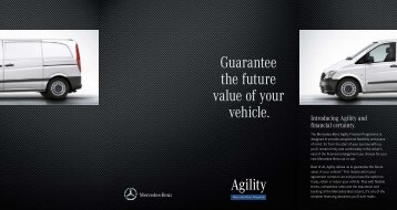 Agility Brochure - Mercedes-Benz