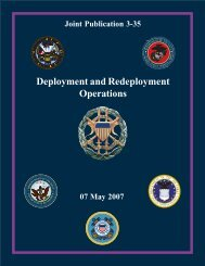 Deployment and Redeployment Operations - Integrated Defence Staff