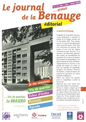 Journal Bastide Benauge n°03 - Association des centres d ...