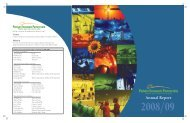 Annual report 2008/2009 - Palliser Economic Partnership