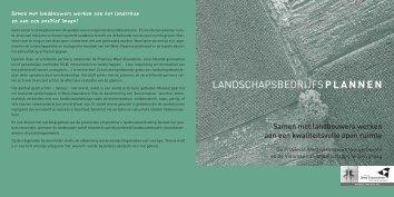 landschapsbedrijfsplannen - Provincie West-Vlaanderen