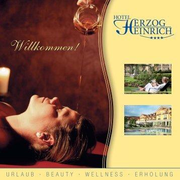 Wochenende - Hotel Herzog Heinrich
