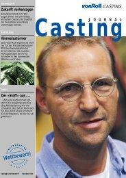Casting Journal November 2002 - vonRoll casting