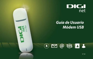 Guía de Usuario Módem USB - Digi Mobil