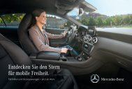 Entdecken Sie den Stern für mobile Freiheit. - Mercedes Benz