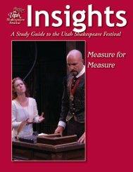 Measure for Measure - Utah Shakespearean Festival