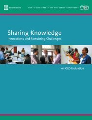 Sharing Knowledge - ISBN: 0821357123