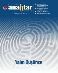 Şubat 2012 Sayı:278 - Verimlilik Genel Müdürlüğü - Bilim, Sanayi ve ...