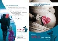 Brosjyre for Sykehuset Namsos