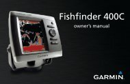Fishfinder 400C Owner's Manual - GPS City