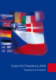 Czech EU Presidency 2009 - Q and A