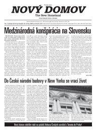 Do České národní budovy v New Yorku se vrací ... - Nového Domova