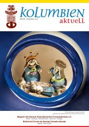 Heft 86 - Deutsch-Kolumbianischer Freundeskreis eV