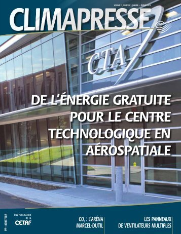 de l'énergie gratuite pour le centre technologique en ... - CETAF