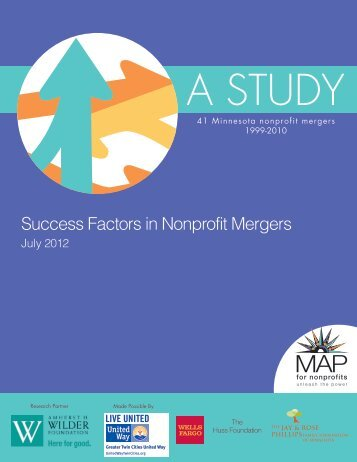 Success Factors in Nonprofit Mergers - Minnesota Council of ...