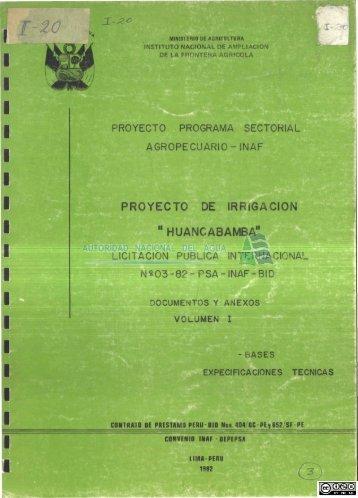 I 20.pdf - Autoridad Nacional del Agua