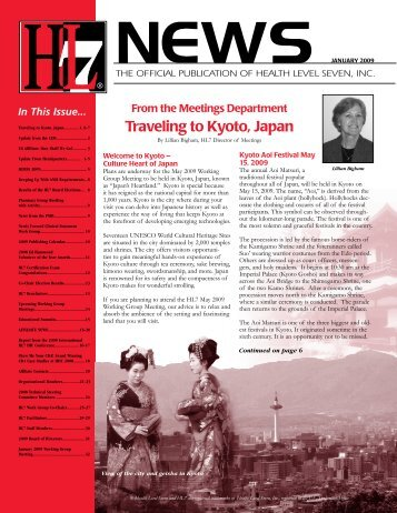 Traveling to Kyoto, Japan - HL7
