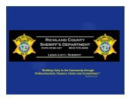 Crisis Prevention and Preparedness Overview - Richland County ...