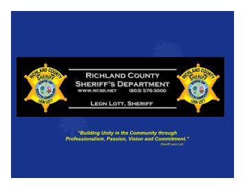 Crisis Prevention and Preparedness Overview - Richland County ...