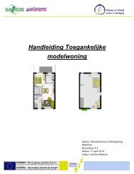 Concept toegankelijke modelwoning - Wohnen im Wandel