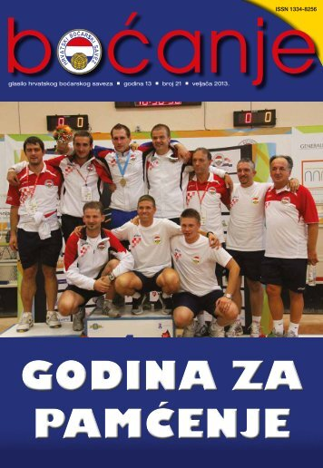 Glasilo - Hrvatski boćarski savez