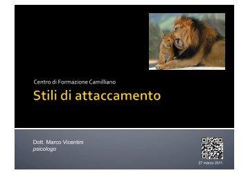 Le basi dell'attaccamento - Marco Vicentini