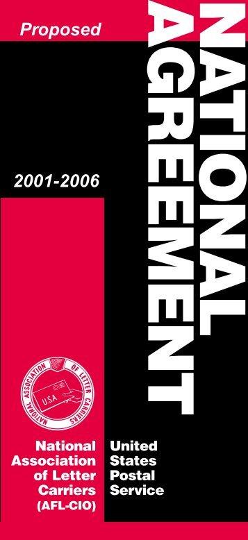 Tentative Agreement - NALC Branch 908
