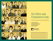 Our Ethics and Compliance Code - Edison International