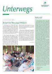 Unterwegs 2010/4 (.pdf) - Diakoniewerk Bethanien
