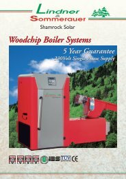 Standard wood chip boiler - Shamrock
