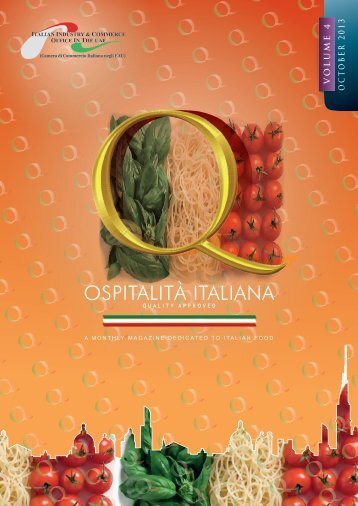 OSPITALITA Magazine SEPT 2013 - Italian Industry & Commerce ...