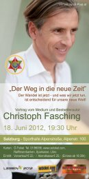 Christoph Fasching - Event in Motion