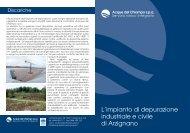 L'impianto di depurazione industriale e civile di Arzignano