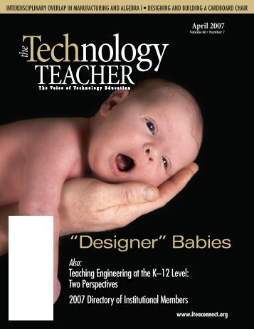 Vol 66, No. 7 - International Technology and Engineering Educators ...