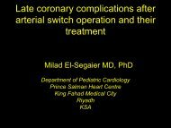 Late coronary complications after arterial switch ... - ResearchGate