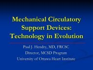 Mechanical Circulatory Support Devices: Technology ... - RM Solutions