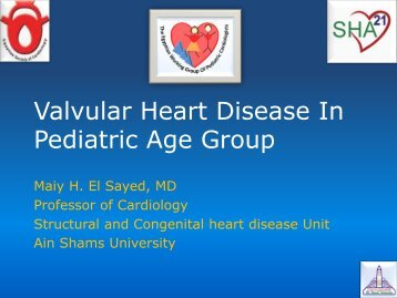Valvular Heart Disease In Pediatric Age Group - RM Solutions