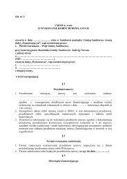 Zał. nr 2 UMOWA- wzór O WYKONANIE ROBÓT BUDOWLANYCH ...