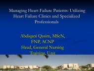 Components Of The Heart Failure Clinic - RM Solutions