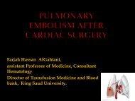Deep Venous Thrombosis & Pulmonary Embolism - RM Solutions