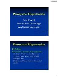 Paroxysmal Hypertension - RM Solutions