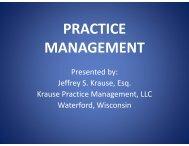 Practice Management Software - Krause Practice Management, LLC.